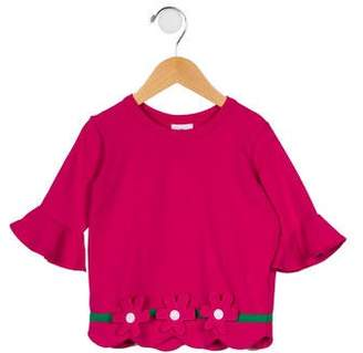 Florence Eiseman Girls' Patterned Two-Piece Tunic Set w/ Tags