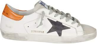 Golden Goose Vintage Effect Superstar Sneakers
