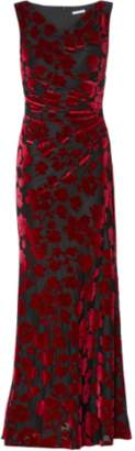 Gina Bacconi Demetria Velvet Maxi Dress