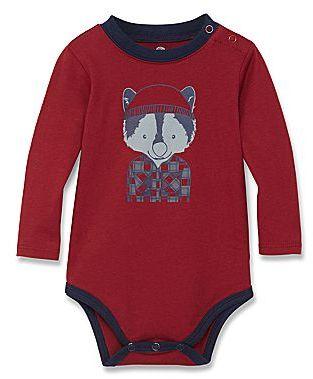 JCPenney Okie Dokie® Long-Sleeve Graphic Bodysuit - Boys newborn-9m