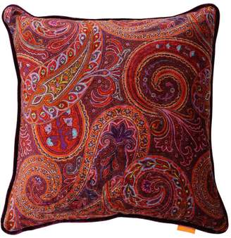 Etro Harnes Velvet Pillow