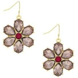 Jessica Simpson Crystal Drop Earrings