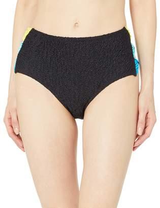 Coco Rave Women's High Waist Bikini Bottom Swimsuit with Side Bow Detail