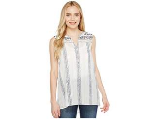 True Grit Dylan by French Market Sleeveless Blouse Women's Blouse