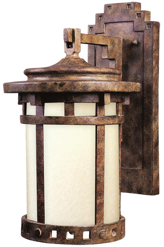 Rogue Frosted Outdoor Wall Lantern