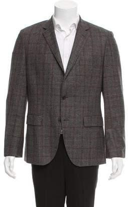 HUGO BOSS Boss by Wool Plaid Blazer