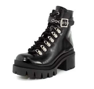 Jeffrey Campbell Women's Czech Combat Boots
