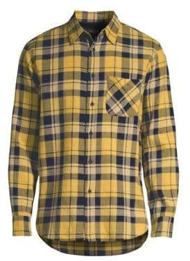 Rag & Bone Fit 3 Beach Plaid Button-Down Shirt