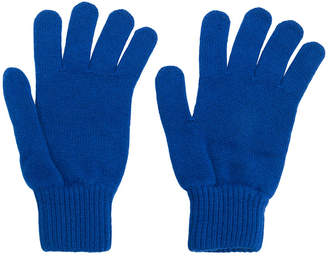 Paul Smith ribbed cuff gloves