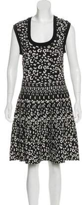 Rebecca Taylor Sleeveless Scoop Neck Dress