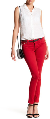 True Religion Super Skinny Flap Pocket Jean $229 thestylecure.com