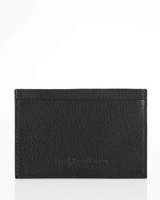 Ralph Lauren Pebbled Leather Slim Card Case