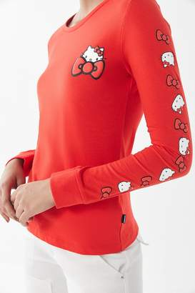 Converse X Hello Kitty Long Sleeve Tee