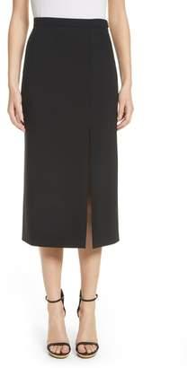 Michael Kors Wool Blend Pencil Skirt