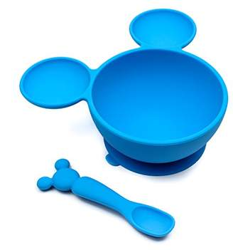 Bumkins Mickey Mouse First Feeding Set, Blue