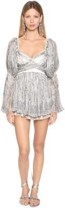 Etro Printed Silk Georgette Mini Dress