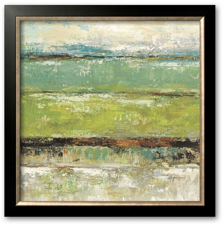 "Art.com ""Living Green I"" Framed Art Print By Michael King"