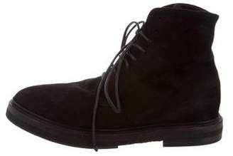 Marsèll Suede Ankle Boots