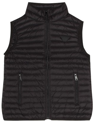 Emporio Armani Kids Quilted down vest