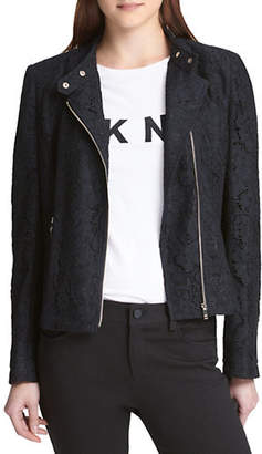 DKNY Long-Sleeve Lace Jacket