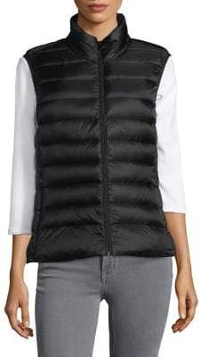 Design Lab Zipped Puffer Vest