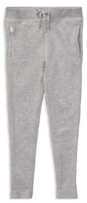 Ralph Lauren Girls' French Terry Jogger Pants - Big Kid