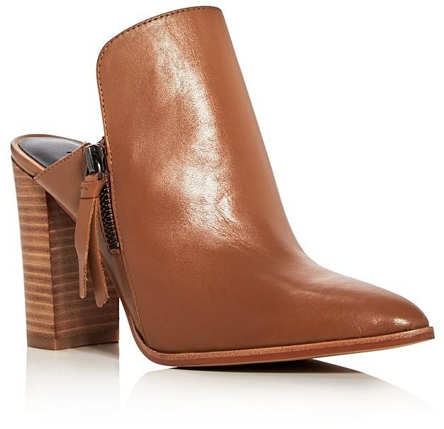 Rebecca MinkoffRebecca Minkoff Aiden Pointed Toe High Heel Mules