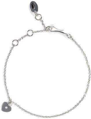 Juicy Couture Couture Yourself Heart Charm Starter Bracelet