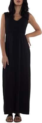 Udderly Hot Mama Maddie Maternity/Nursing Maxi Dress