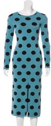 Natasha Zinko Knit Bodycon Dress