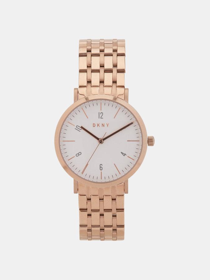 DKNYMinetta Rose Gold-Tone Watch
