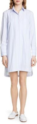 Club Monaco Strawberta Long Sleeve Shirtdress