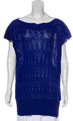 Missoni Merino Wool-Blend Textured Top