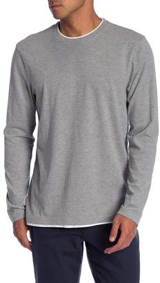 Joe Fresh Long Sleeve Double Trim Tee
