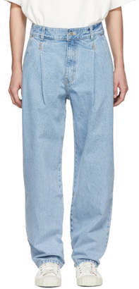 ADER error Blue Fergus Pintuck Jeans