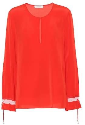 Schumacher Dorothee Divine Fluidity silk blouse
