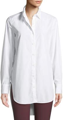 Rag & Bone Nightingale High-Low Button-Front Shirt