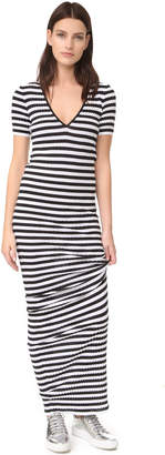 DSQUARED2 Striped Maxi Dress $1,350 thestylecure.com