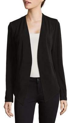 BCBGeneration Welt Pocket Crepe Tuxedo Blazer