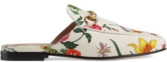 Gucci Princetown Flora print canvas slipper