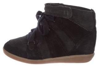 Isabel Marant Basket Wedge Sneakers