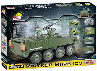 Cobi Small Army Stryker M1126 Infantry Carrier Vehicle 485 Piece Construction Blocks Building Kit