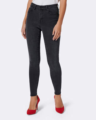 Petite Poppy Mid Rise Ankle Grazer Jeans