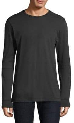 Helmut Lang Shoulder-Panel Long-Sleeve Tee