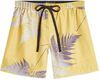 Double Rainbouu Night Swim Printed Shorts