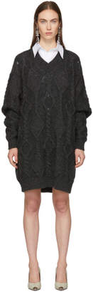 Isabel Marant Grey Wool Bev Dress
