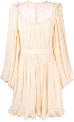 Reinaldo Lourenço long-sleeve flared dress