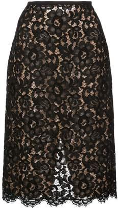 Michael Kors lace midi skirt