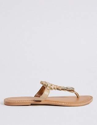 Marks and Spencer Bling Flip-flops Sandals