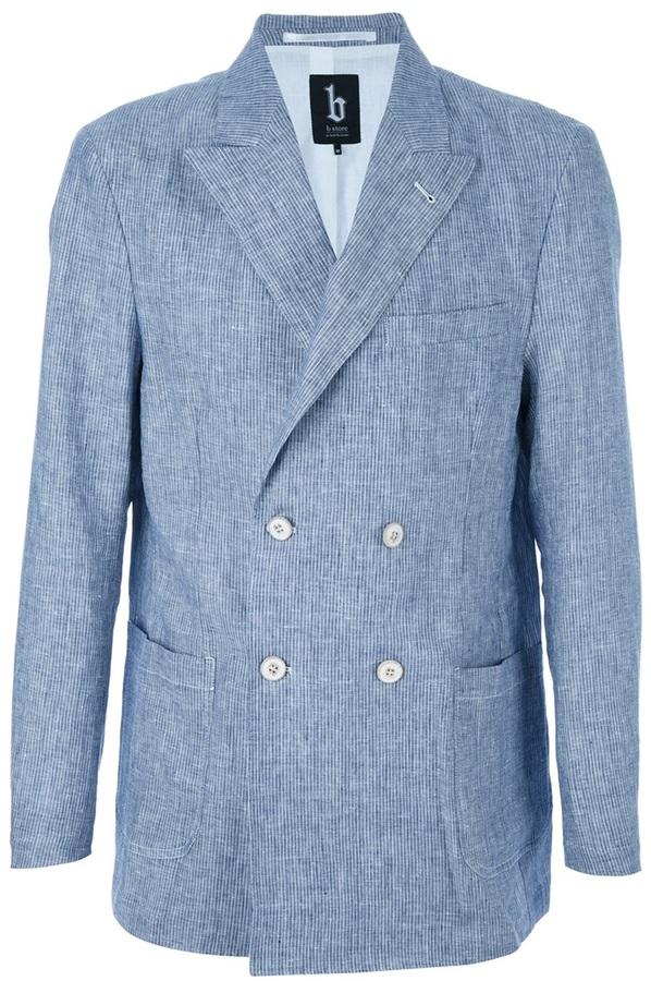 B Store Linen blazer